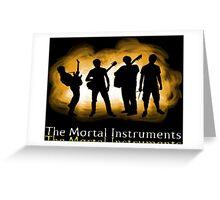 The Mortal Instruments Band Greeting Card