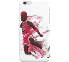 Air Jordan on Fire iPhone Case/Skin