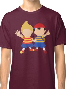 Ness & Lucas (Red) - Super Smash Bros. Classic T-Shirt