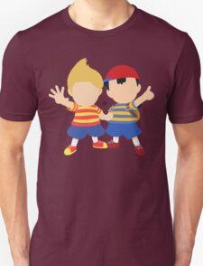 Ness & Lucas (Red) - Super Smash Bros. Unisex T-Shirt