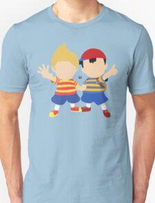 Ness & Lucas (Blue) - Super Smash Bros. T-Shirt