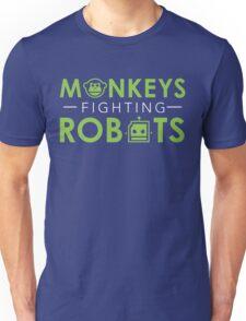 Monkeys Fighting Robots Original  Unisex T-Shirt