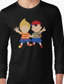 Ness & Lucas (Black) - Super Smash Bros. [Requested] Long Sleeve T-Shirt