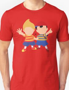 Ness & Lucas (Black) - Super Smash Bros. [Requested] Unisex T-Shirt