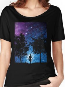 Galaxy-Dark Side Women's Relaxed Fit T-Shirt