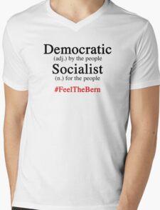Bernie Mens V-Neck T-Shirt