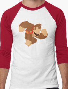 Donkey Kong - Super Smash Bros. Men's Baseball ¾ T-Shirt