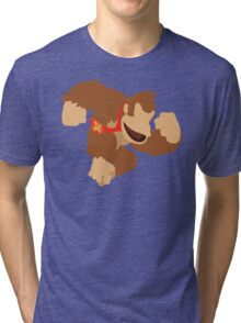 Donkey Kong - Super Smash Bros. Tri-blend T-Shirt