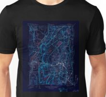 USGS TOPO Map Connecticut CT New Britain 330942 1946 31680 Inverted Unisex T-Shirt