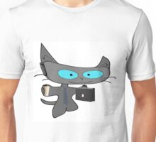 Cat Ready For Business  Unisex T-Shirt