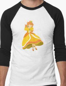 Peach (Daisy) - Super Smash Bros. Men's Baseball ¾ T-Shirt