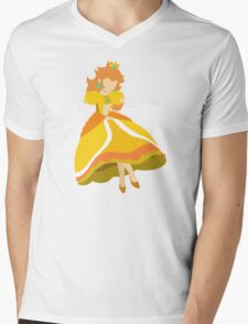 Peach (Daisy) - Super Smash Bros. Mens V-Neck T-Shirt