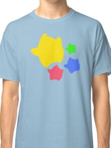 Lumas (Yellow, Red, Blue, Green) Classic T-Shirt