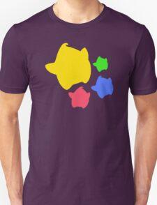 Lumas (Yellow, Red, Blue, Green) Unisex T-Shirt