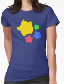 Lumas (Yellow, Red, Blue, Green) Womens Fitted T-Shirt