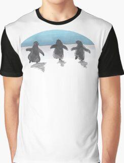 Baby Penguin Trio Graphic T-Shirt