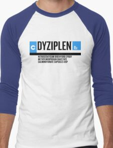 Dyziplen Men's Baseball ¾ T-Shirt