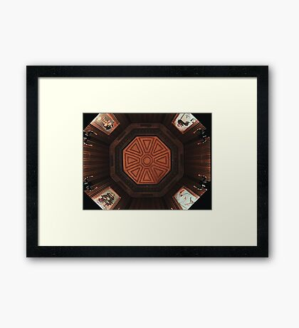 Haunted Gallery Framed Print