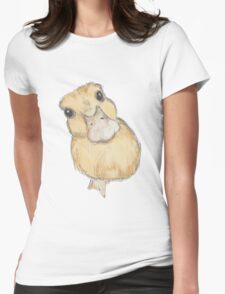 Duckling Womens Fitted T-Shirt