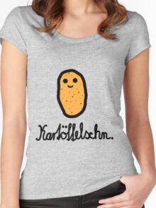 Kartöffelschn Women's Fitted Scoop T-Shirt