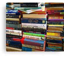 More Books  Canvas Print
