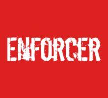 Enforcer Ice Hockey TShirt One Piece - Short Sleeve