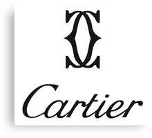 cartier logo 2016 Canvas Print