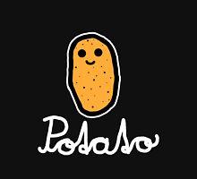 Potato (White) Womens Fitted T-Shirt
