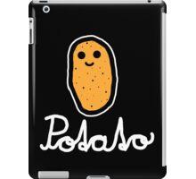 Potato (White) iPad Case/Skin