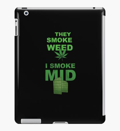 Smoke Mid iPad Case/Skin