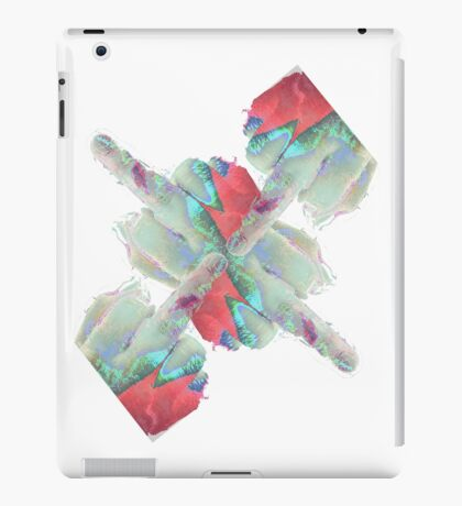 Aladdin Sane Middle Finger iPad Case/Skin