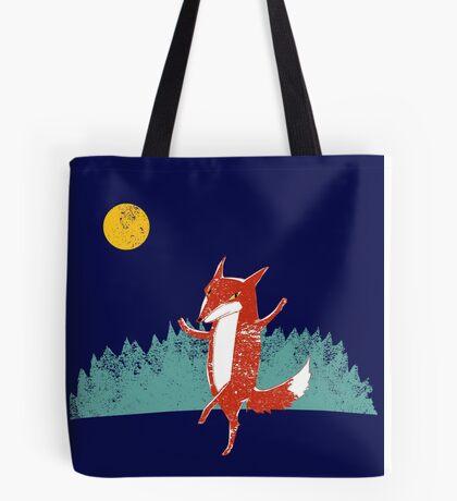 Fox dance  Tote Bag