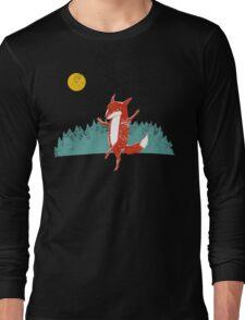 Fox dance  Long Sleeve T-Shirt