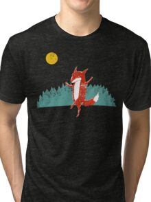 Fox dance  Tri-blend T-Shirt
