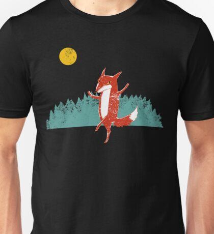 Fox dance  Unisex T-Shirt
