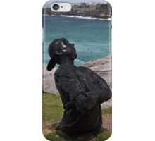Youth  With Attitude,Sculptures By Sea,Australia 2015 iPhone Case/Skin