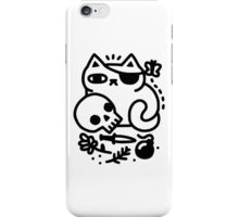 Badass Cat iPhone Case/Skin