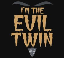 I'm the EVIL TWIN funny Halloween costume One Piece - Long Sleeve
