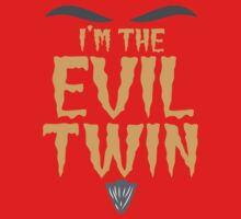 I'm the EVIL TWIN funny Halloween costume One Piece - Short Sleeve