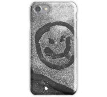 Creative Asphalt Worker iPhone Case/Skin