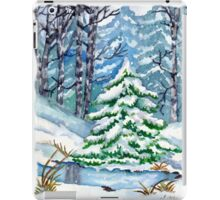 Winter Spruce Tree iPad Case/Skin
