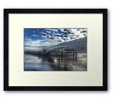 Conwy road bridge  Framed Print