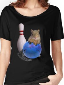 Bowling Squirrel Women's Relaxed Fit T-Shirt