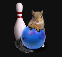 Bowling Squirrel Unisex T-Shirt