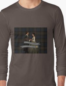 Outlander/Jamie & Claire Fraser Wedding Vow Long Sleeve T-Shirt