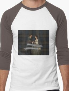 Outlander/Jamie & Claire Fraser Wedding Vow Men's Baseball ¾ T-Shirt