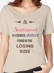 Sherlock Holmes sentiment quote [colored] Women's Relaxed Fit T-Shirt