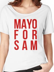 Mayo For Sam Women's Relaxed Fit T-Shirt