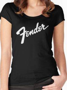 Fender Women's Fitted Scoop T-Shirt