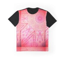 Hot Pink Mandala 1 Graphic T-Shirt